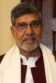 children's rights and education advocate and an activist Kailash Satyarthi