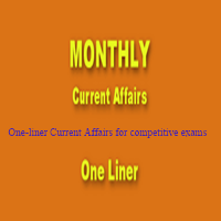 One-liner Current Affairs for competitive exams